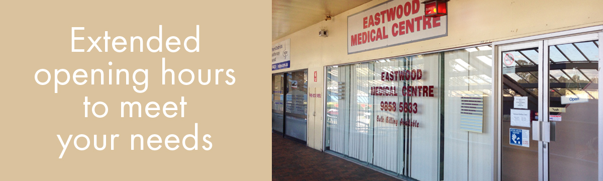 eastwood medical entrance